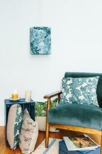 pascale faubert lampe suspendue motif marée basse bleu (1)